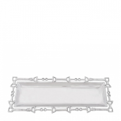 Equestrian Oblong Tray with Bits