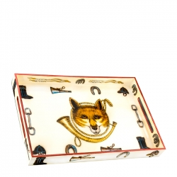 Fox & Horn Lacquer Tray