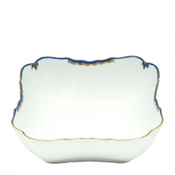 Princess Victoria Blue Square Salad Bowl