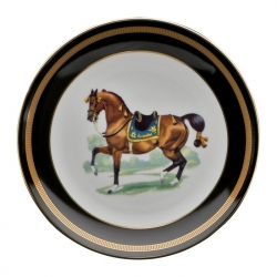 Imperial Horse Salad Plate