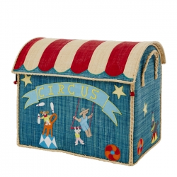 Large Circus Toy Basket