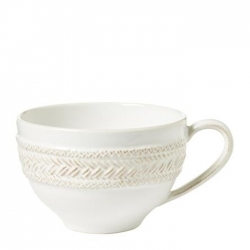 Le Panier Whitewash Tea/Coffee Cup