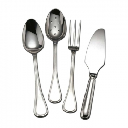 Lyrique Silverplate Four Piece Hostess Set