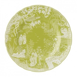 Mikado Lime Dinner Plate