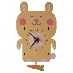 Rabbit Pedulum Clock