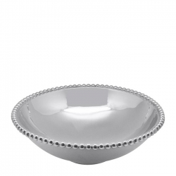 Pearled Large Serving Bowl