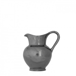 Pewter Stoneware Small Round Pitcher