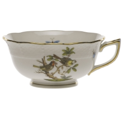 Rothschild Bird Tea Cup, Motif #11