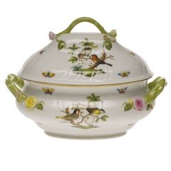 Rothschild Bird Tureen with Branch Handles