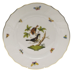 Rothschild Bird Dinner Plate, Motif #4
