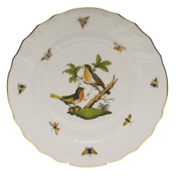 Rothschild Bird Dinner Plate, Motif #8