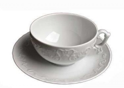 Simply Anna White Tea Cup