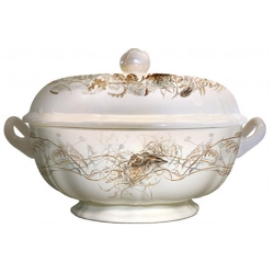 Sologne Soup Tureen with Hare