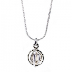 Solstice Pendant with Chain
