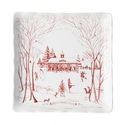 Country Estate Winter Frolic Sweets Tray
