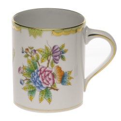 Queen Victoria Green Coffee Mug