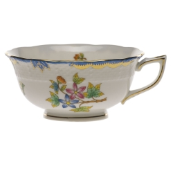 Queen Victoria Blue Tea Cup