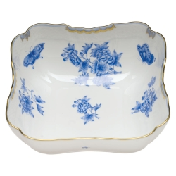 Fortuna Blue Square Salad Bowl