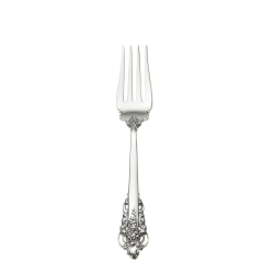 Grande Baroque Sterling Cold Meat Fork