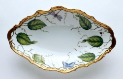 Ivy Garland  Open Oval Vegetable Bowl