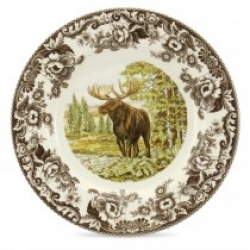 Woodland Majestic Moose Dinner Plate