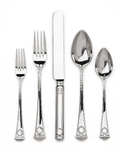 Romanov Court Stainless Five Piece Place Setting