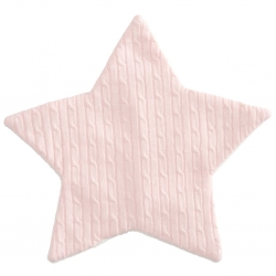 Pink Cable Star Blankie