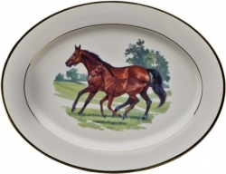 Bluegrass Oval Platter