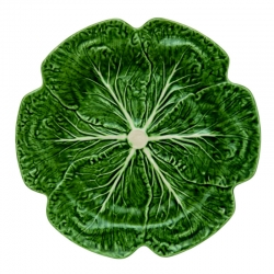 Cabbage Green Dinner Plate
