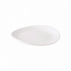 Barre Alabaster Side Plate