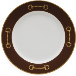 Cheval Chestnut Brown Salad Plate
