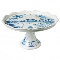Country Estate Delft Blue Cake Stand