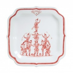 Country Estate Reindeer Games Coaches Party Plate