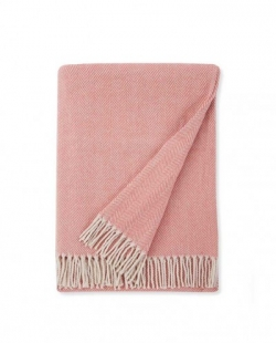 Celine Salmon Throw