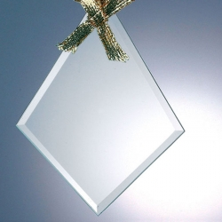 Beveled Diamond Ornament