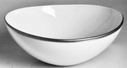 Simply Elegant Platinum Cereal Bowl