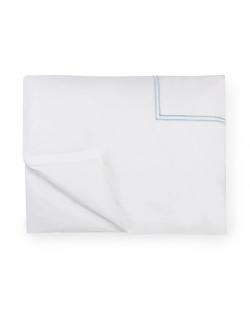 Grande Hotel White/Blue Full/Queen Duvet Cover