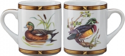 Game Birds Wood Duck/American Widgeon Mug
