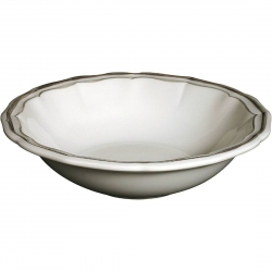 Filet Taupe Cereal Bowl