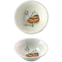 Grand Crustaces Scallop Extra Large Cereal Bowl