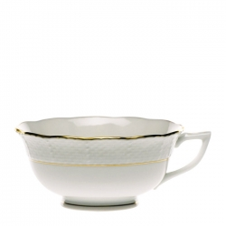 Golden Edge Tea Cup