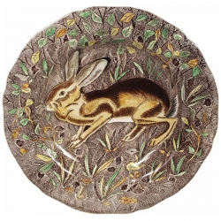 Rambouillet Hare Dinner Plate