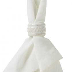Le Panier Whitewash Napkin Ring
