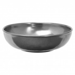 Pewter Stoneware Coupe Pasta/Salad Bowl