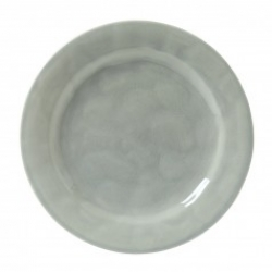 Puro Mist Grey Crackle Dinner Plate