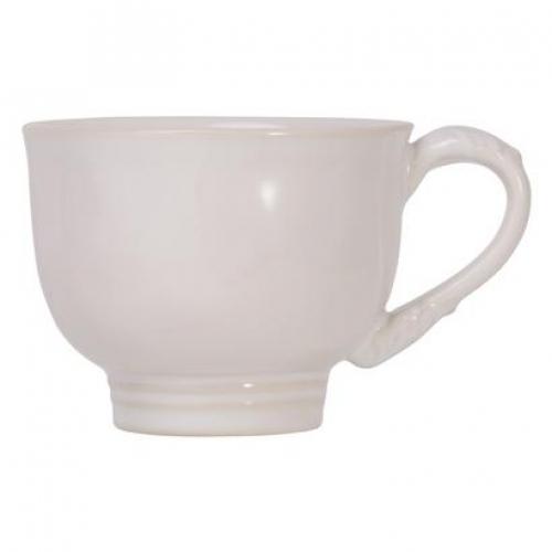 Acanthus Whitewash Tea/Coffee Cup
