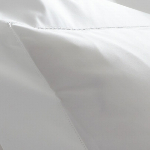 sierra white queen fitted sheet lv harkness company. Black Bedroom Furniture Sets. Home Design Ideas