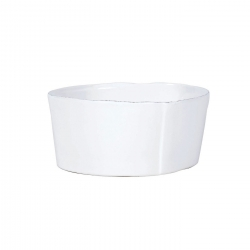 Lastra White Cereal Bowl-R