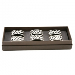 Box of Six Napkin Rings