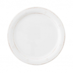Al Fresco Berry & Thread Whitewash Melamine Dinner Plate